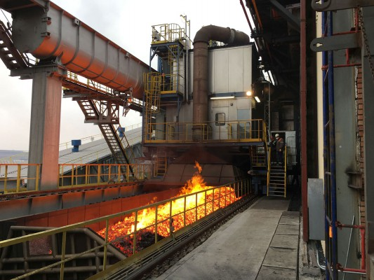 Machine set for a coking plant in Eastern Europe