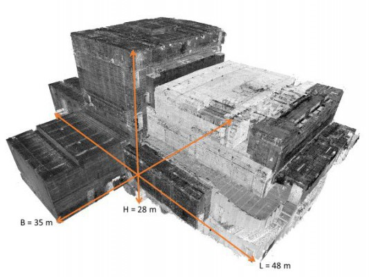 3D-scan of event building