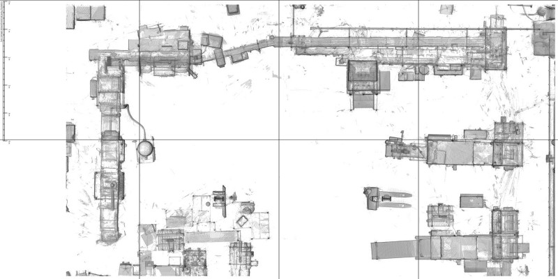 Factory planning based on 3D-Scan